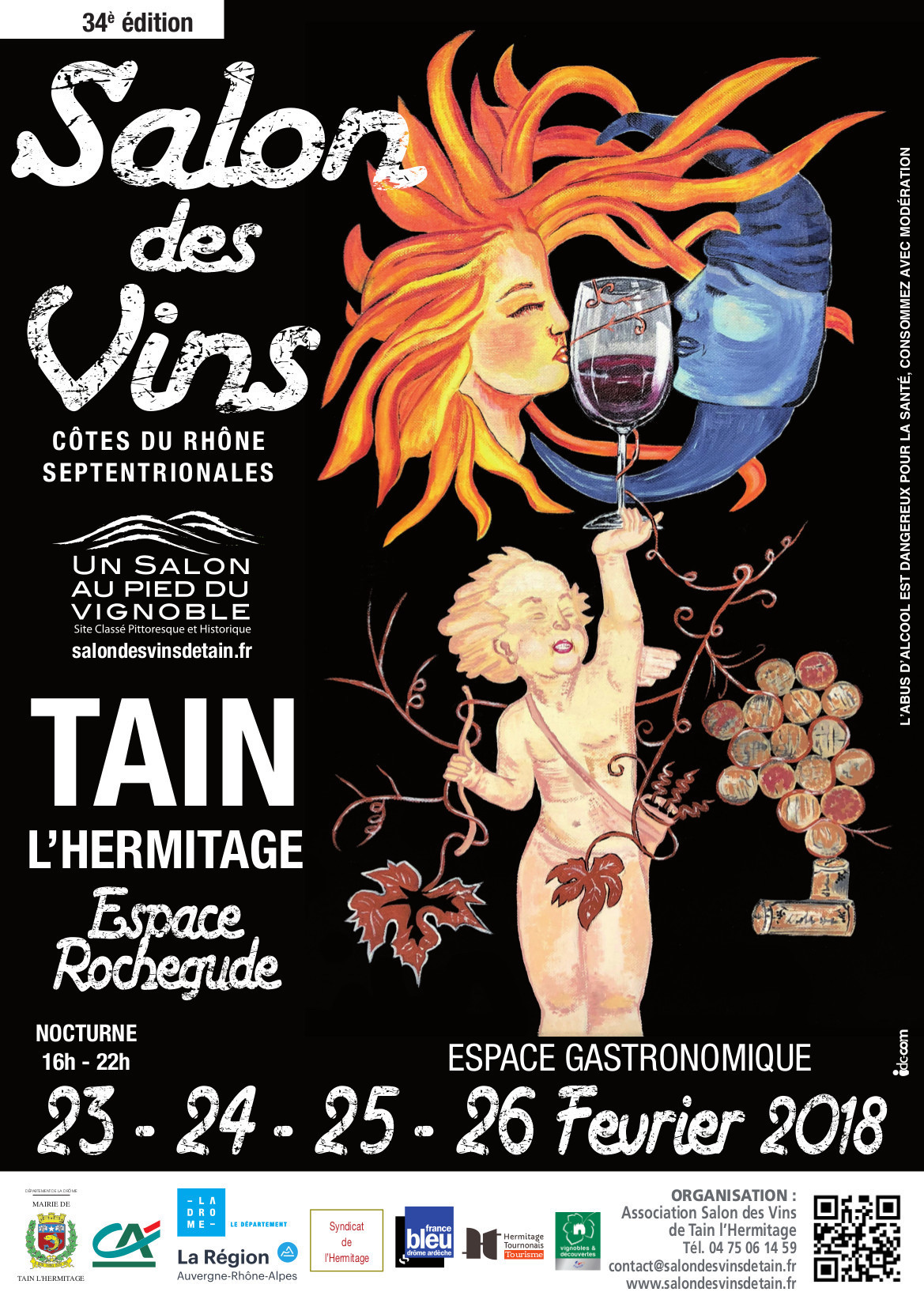 Salon des Vins Tain L'Hermitage 2018 - Domaine Gilles Robin